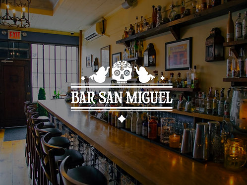 2 Margaritas at Bar San Miguel