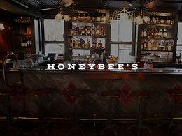2 Boulevardiers at Honeybee's