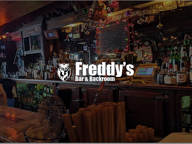 2 Cocktails at Freddy's Bar and Backroom