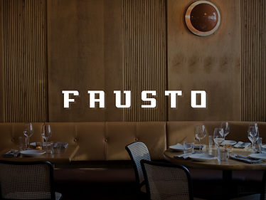 2 Negronis at Fausto