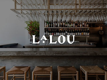 2 Glasses of Wine at LaLou
