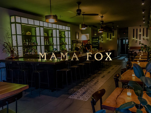 2 Mrs. Robinson's at Mama Fox