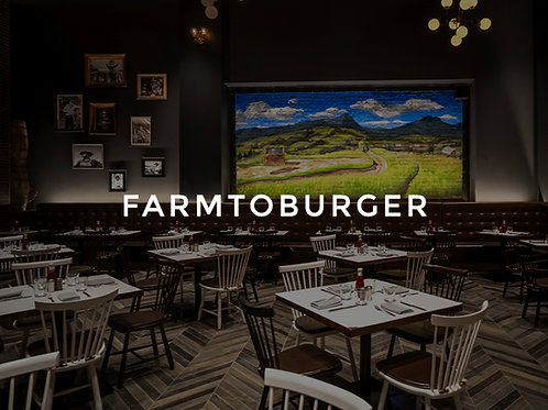2 Cocktails at Farm to Burger