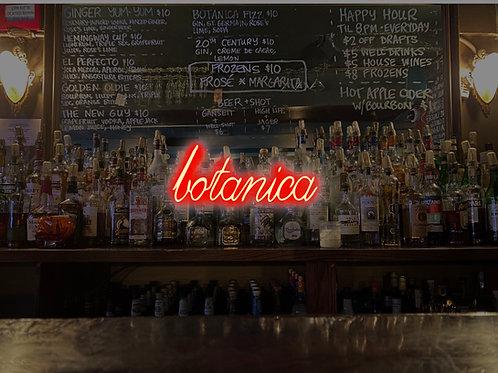 2 Cocktails at Botanica Bar