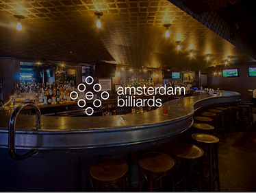 2 Cocktails at Amsterdam Billiards and Bar