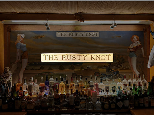 2 Dark and Stormies at the Rusty Knot