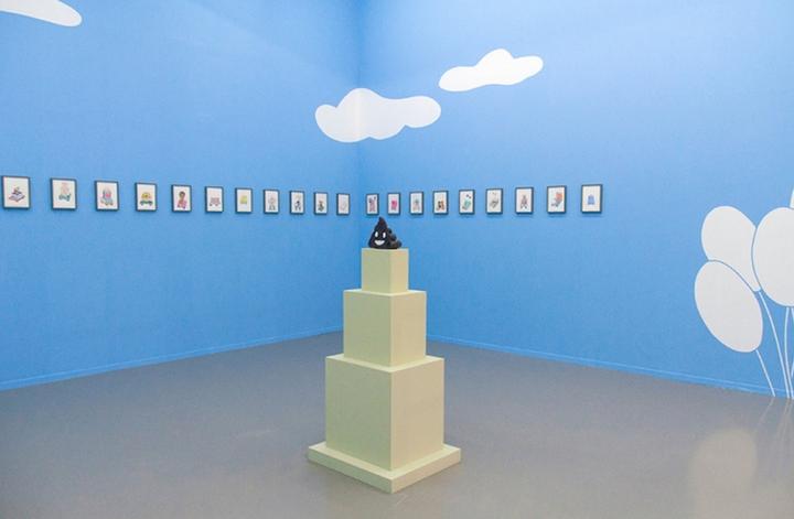 My Life as a Parade, Centre culturel suisse, Paris, 2018.  [Tristan Savoy]