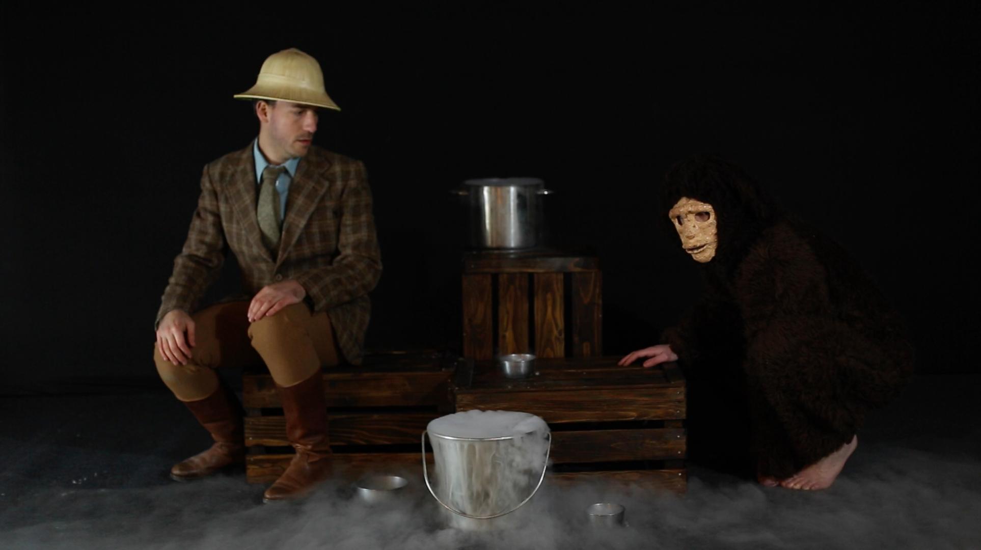THE APE'S DREAM, video, 2014.