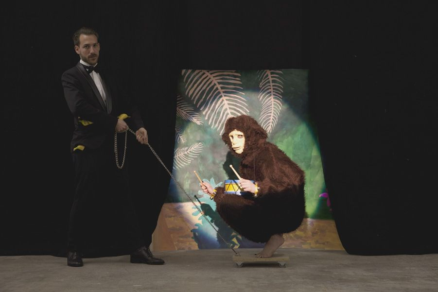 I APE THEREFORE I AM, 1m3, 2012.