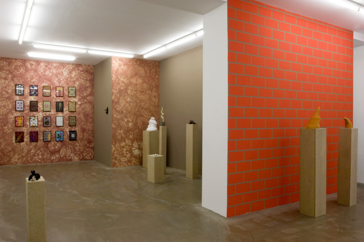 POCO LOCO, Galerie Alain Gutharc, Paris, 2008.  [Marc Domage]