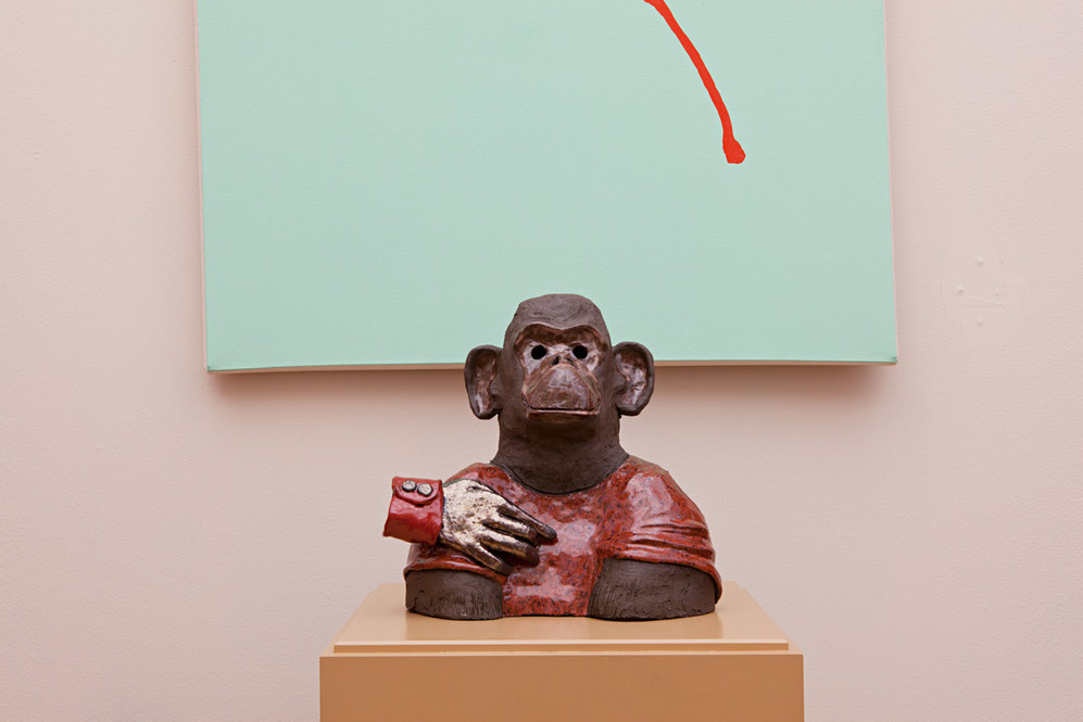 PRIMATES' HALL OF FAME, Kunsthaus, Aarau, 2012. [Nicolas Delaroche]