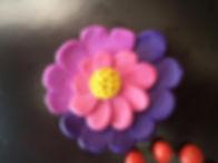 цветок из пластилина тех