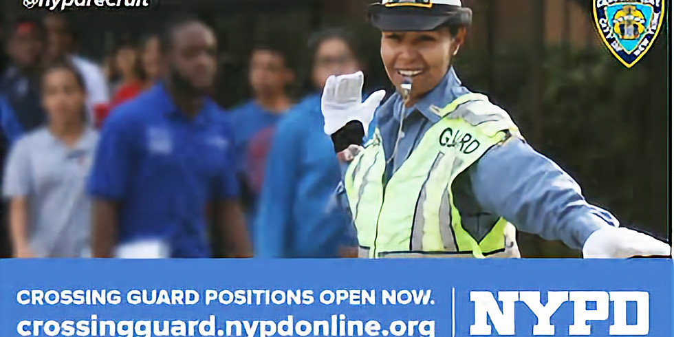 NYPD is Hiring School Crossing Guards