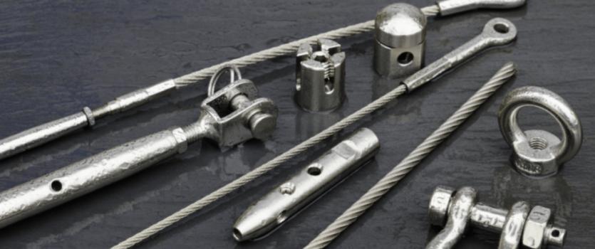 Câbles en acier inoxydab