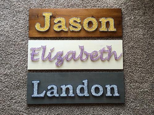 Kids Name Board