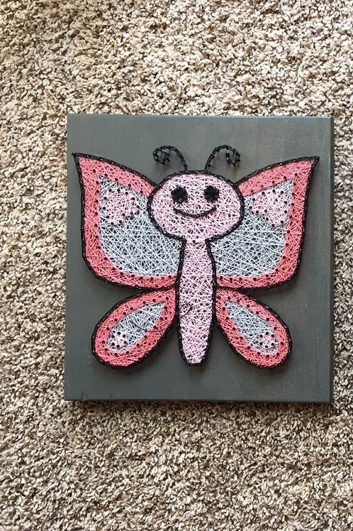 Butterfly w/ Heart