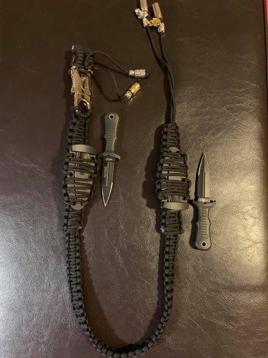 Custom Black Whip