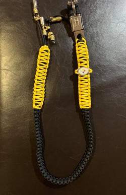 Custom Yellow and Black Whip