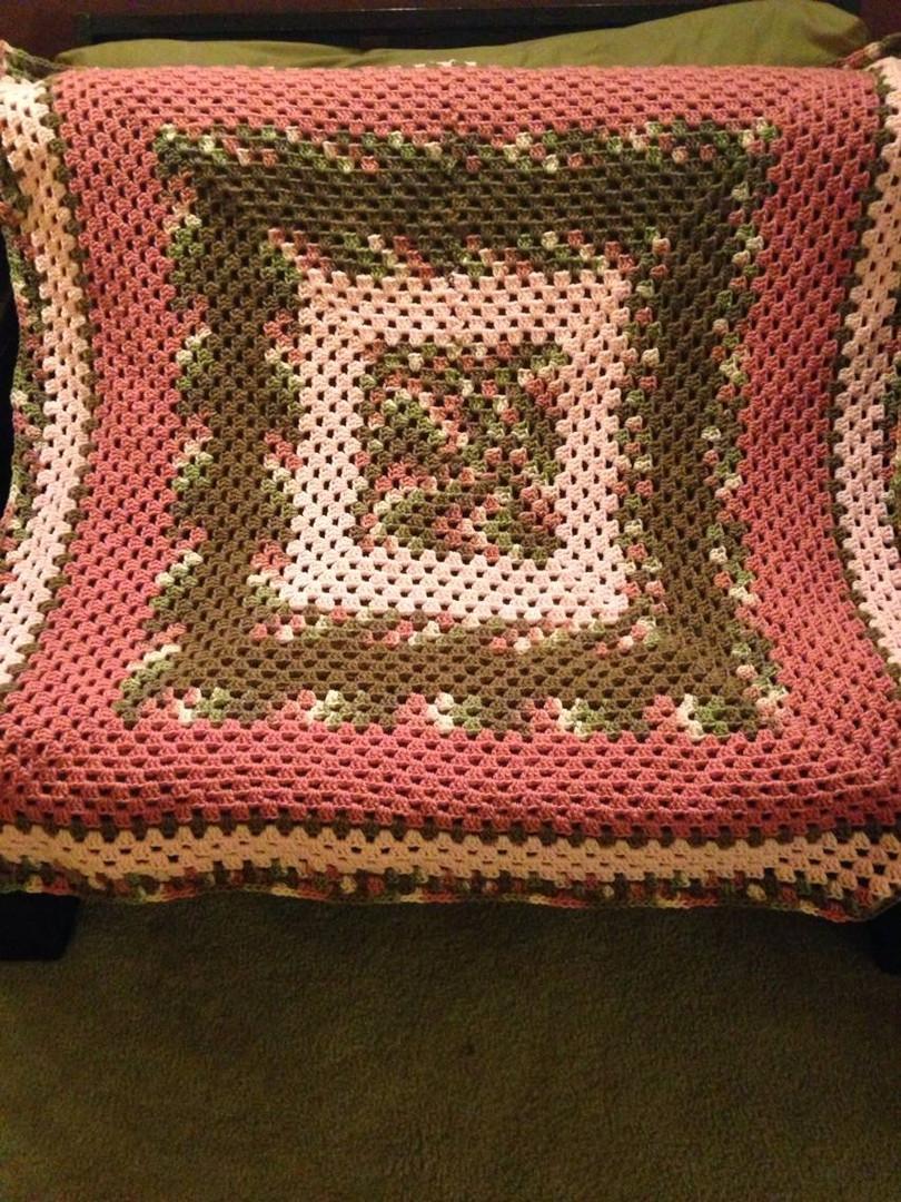 Multi-Pink Baby Blanket