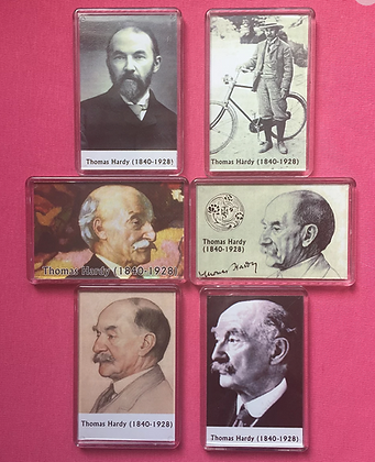 Set of 3 Thomas Hardy Fridge Magnets