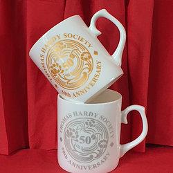 Thomas Hardy 50th Anniversary Mug