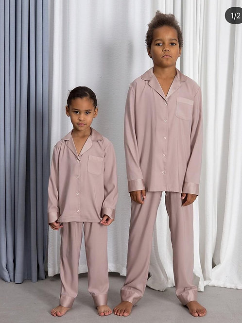 пижама пыльно-бежевая