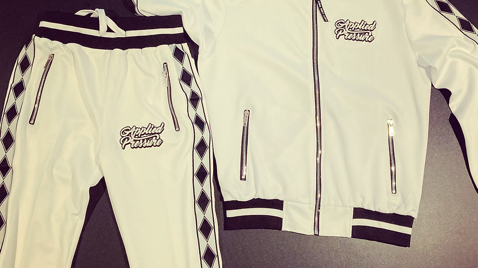 (New) Ap Tracksuits -White