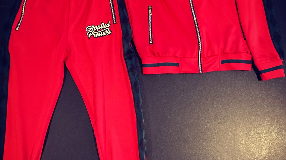 (New) Ap Tracksuits -Red