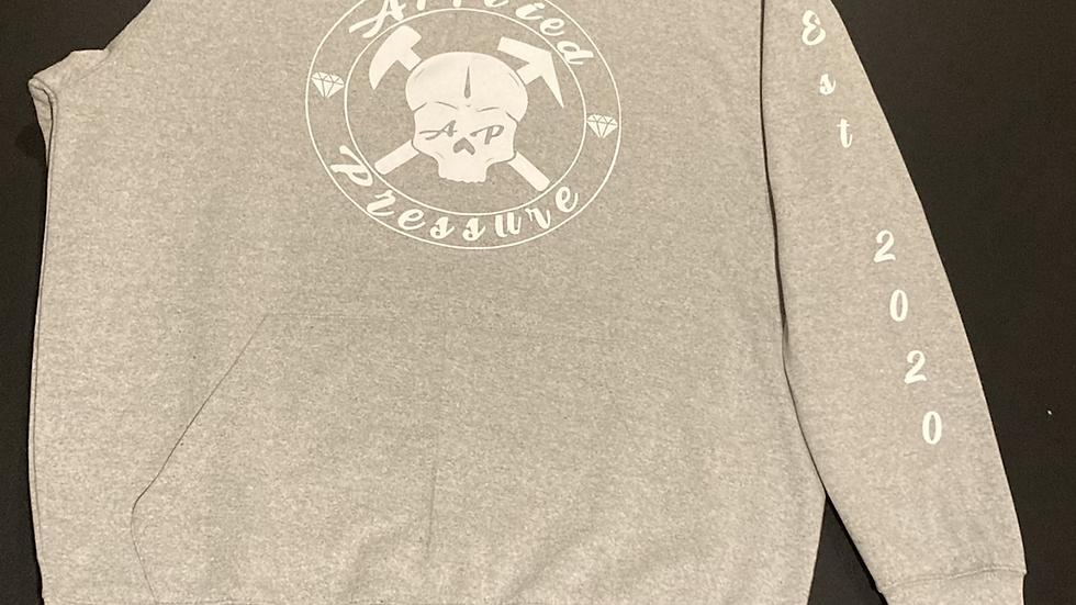 Ap men Hoodie - Grey
