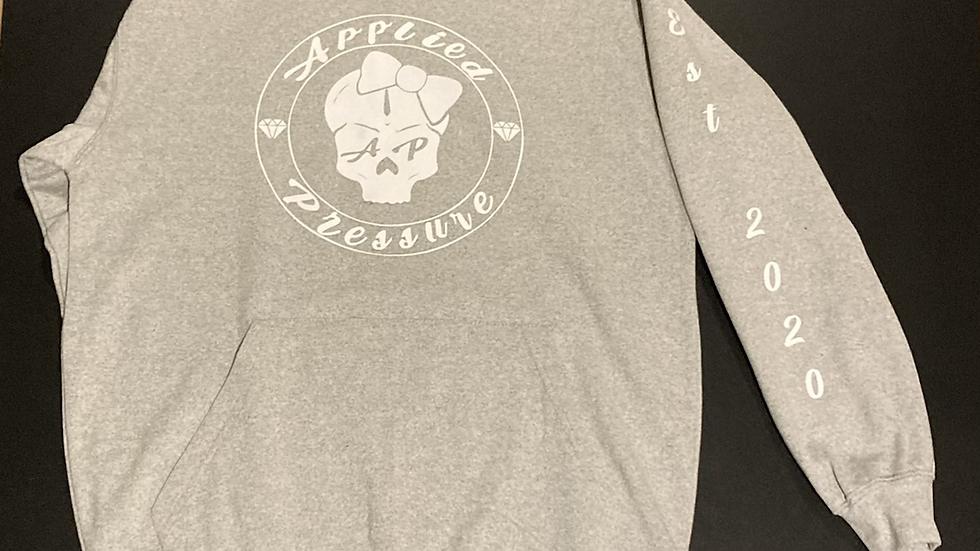 Ap women Grey pull over hoodie