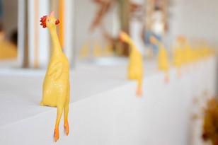 Rubber chickens