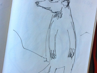 A Zoo is way more fun when you take a pen and a moleskin.