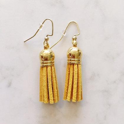 Marigold Short Tassel Earring