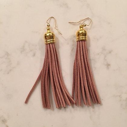Caramel Tassel Earring