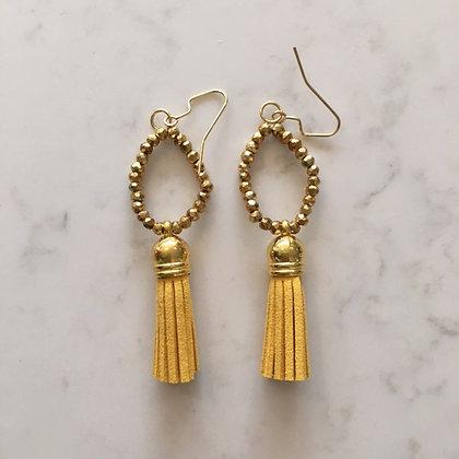 Marigold Circle Earring