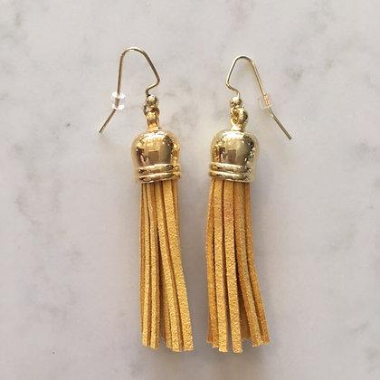 Marigold Medium Tassel Earring