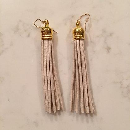 Ivory Tassel Earring