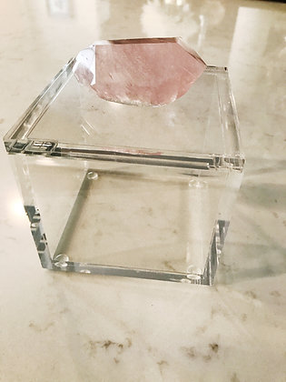 Rose Quartz Box