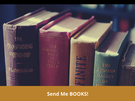 19 til 21  Joy : Send me Books!