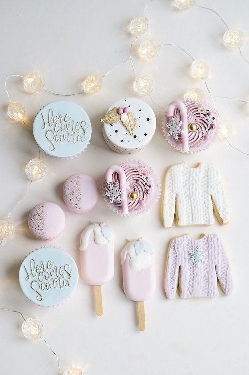 Pastel Wonderland Christmas Gift Box