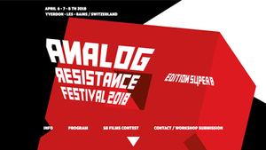 SITE INTERNET D'ANALOG RESISTANCE FESTIVAL