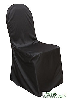 Premium Scuba Chair Cover (Black)