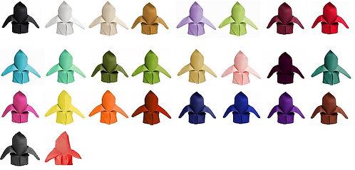 Premium Polyester Napkins - (25+ Colors)