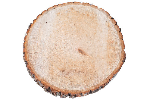 "Wood Slice 9"" Round"