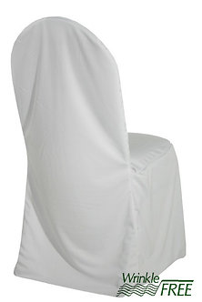 Premium Scuba Chair Cover (White)