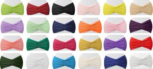 - Ruffled Spandex Bands - (24 Colors!)