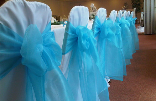 HD Organza Sash (35+ Colors)