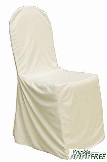 Premium Scuba Chair Cover (Ivory)