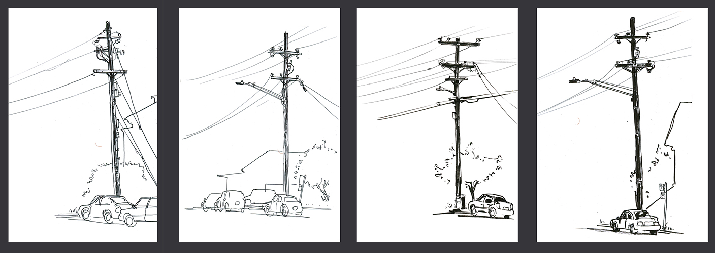 Telephone Pole Series