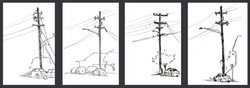 Telephone Pole Series